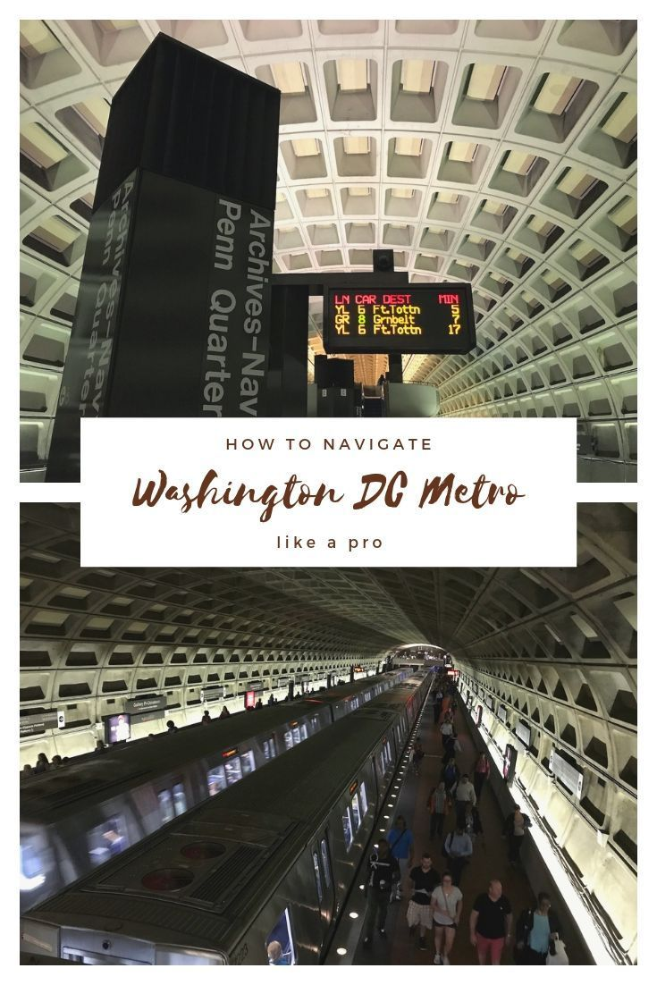 How to Navigate Washington DC Metro | I want to go there