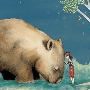 """My favourite Painting. """"Giant Wombat"""""""