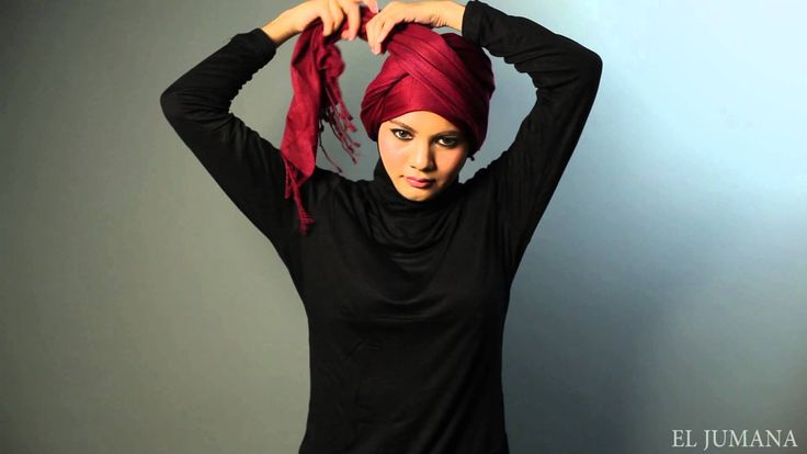 First of all, she is just too cute lol. And I love her turban. And WHAT IS THAT BLACK THING SHE ADDS AT THE END???