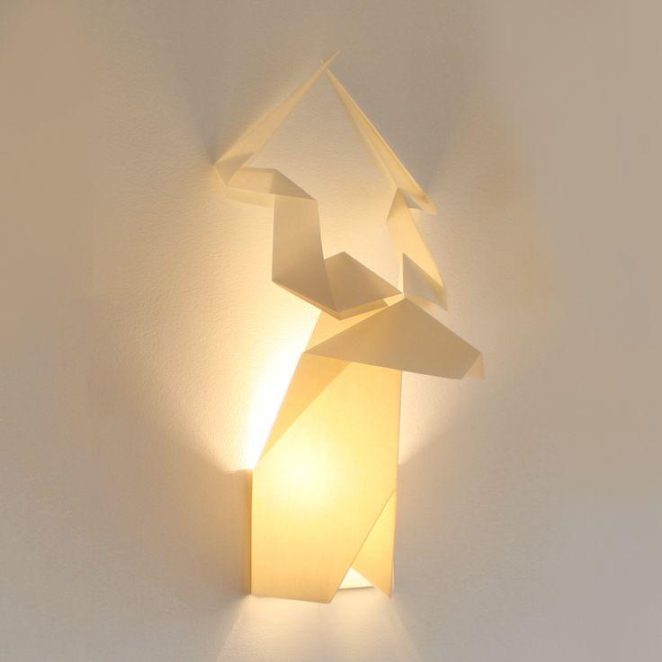 Origami Deer Lampshade