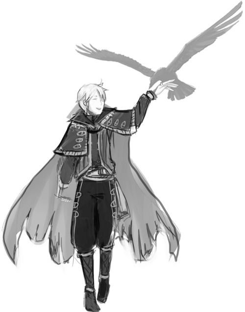 Fire Emblem: Awakening - Henry ~ I love this redesign so much. The dark mage outfits honestly make no sense, considering they come from a very sandy desert. The person who made this also has a redesign for Cherche and Tharja.
