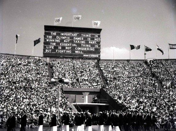 La historia de los Juegos Olímpicos. Imágenes de los JJOO desde 1936 hasta la preparación de los próximos en Londres