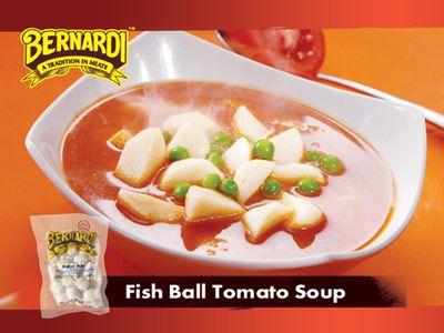 Resep Sup Tomat Bakso Ikan