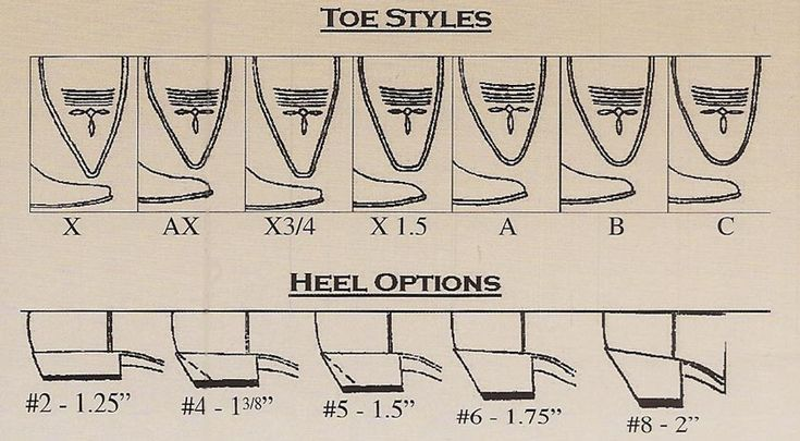 types of shoe heels heel and toe styles for timsboots