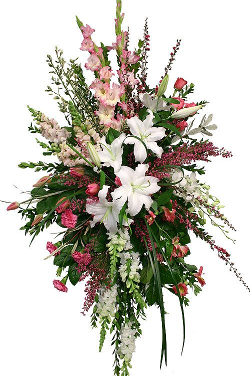 1209 best Sympathy flowers images on Pinterest Funeral flowers
