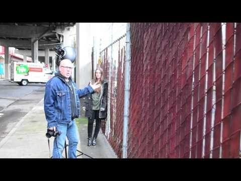 Kevin Focht tip on speedlights outside