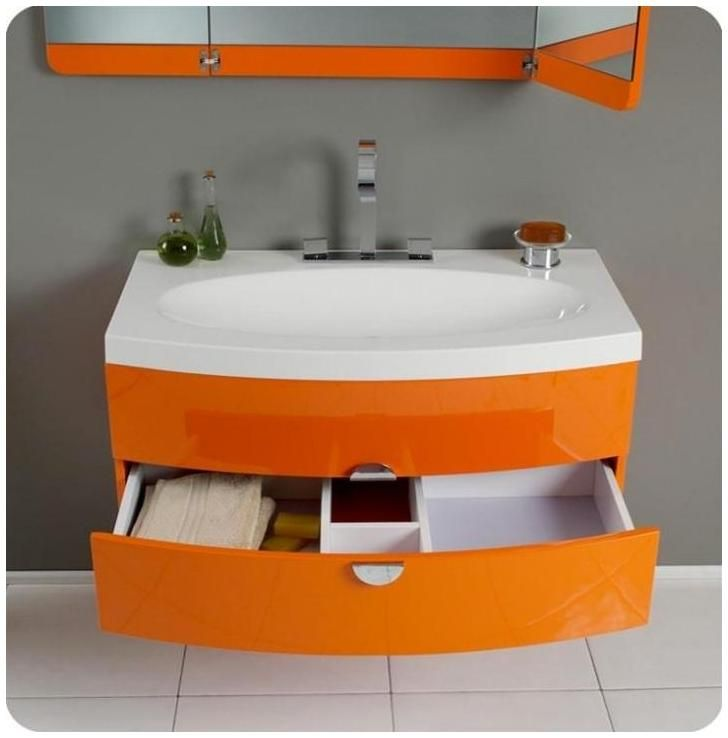 1000 ideas about orange bathrooms on burnt
