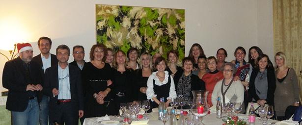 Gruppo Ladybird house  Cena di Natale 2011   :-)