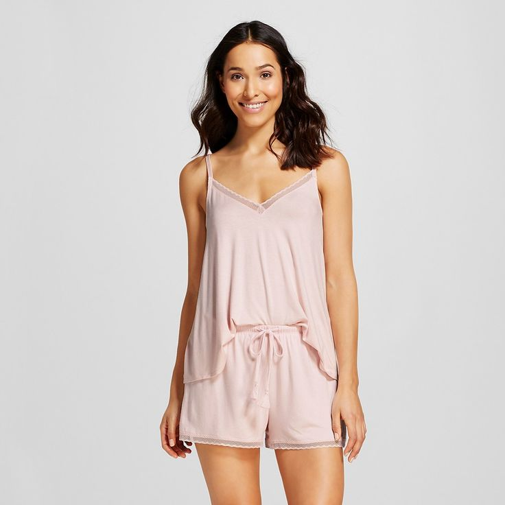 Women's Pajama Set Fluid Knit Crystal Pink