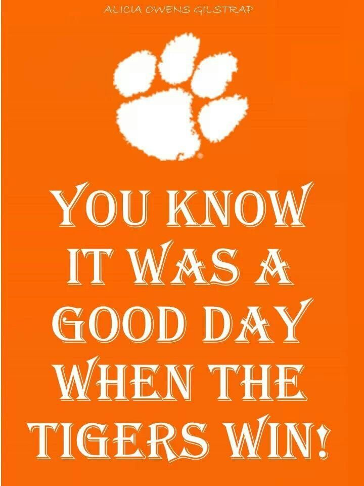 Go TIGERS! Clemson Tiger Football!!!  Like my facebook page for exercise tips, support, and recipes.  https://www.facebook.com/letsbefit43/?ref=aymt_homepage_panel