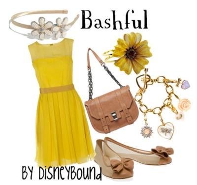 .: Disney Outfits, Style, Disney Inspired, Inspired Outfits, Disneybound, Disney Bound, Seven Dwarfs, Disney Fashion, Snow White