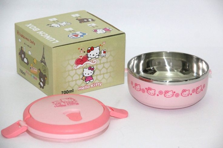 Lunch Box 1 Layer Hello Kitty Rp 115.000