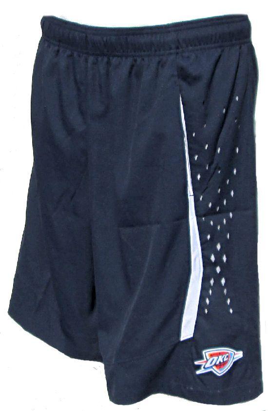 Oklahoma City Thunder Men�s Blue Select Synthetic Shorts by Adidas $49.95