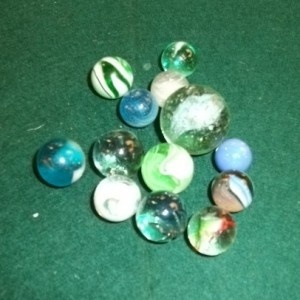 Marbles... classic stocking filler for Christmas