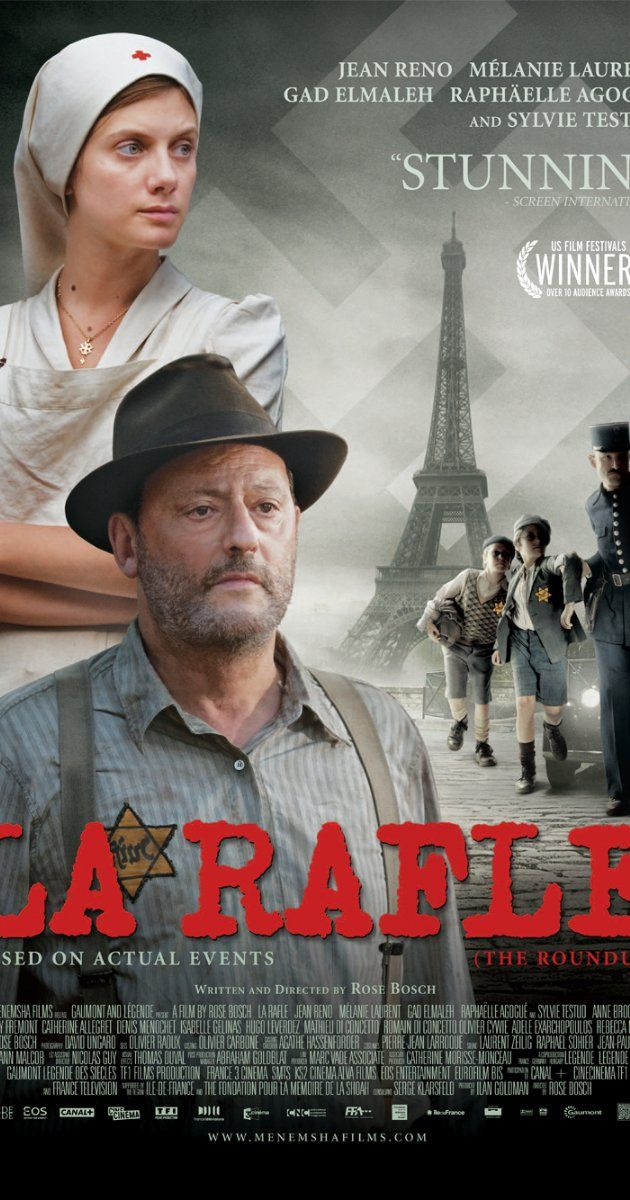 "Directed by Rose Bosch. With Jean Reno, Mélanie Laurent, Gad Elmaleh, Raphaëlle Agogué. A faithful retelling of the 1942 ""Vel' d'Hiv Roundup"" and the events surrounding it."