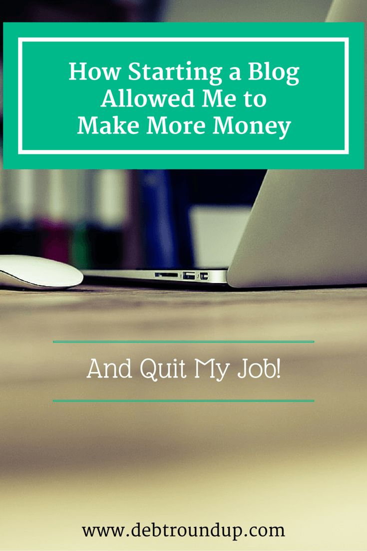 When I started a blog three years ago, I didn't know I could make money from it. Now, I make money and quit my job to pursue it full time. Learn more now!