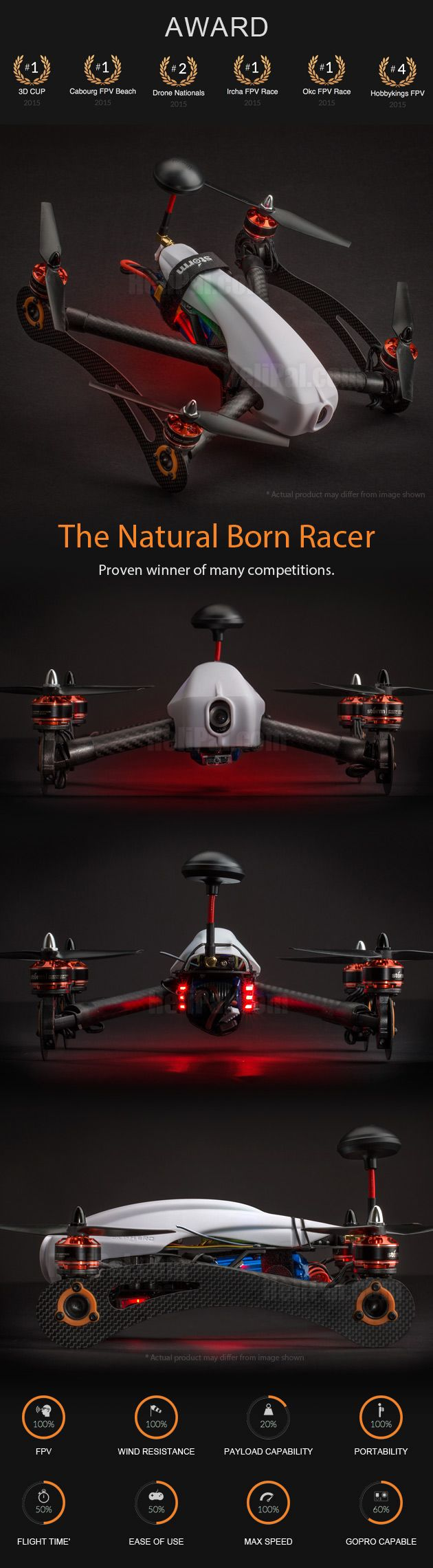 STORM Racing Drone (RTF / Anakin Storm Edition) - HeliPal