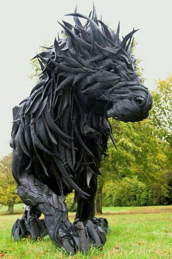 Made from tires
