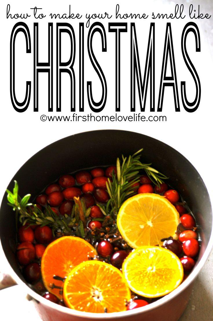 Make Your Home Smell Like Christmas Christmas Trees