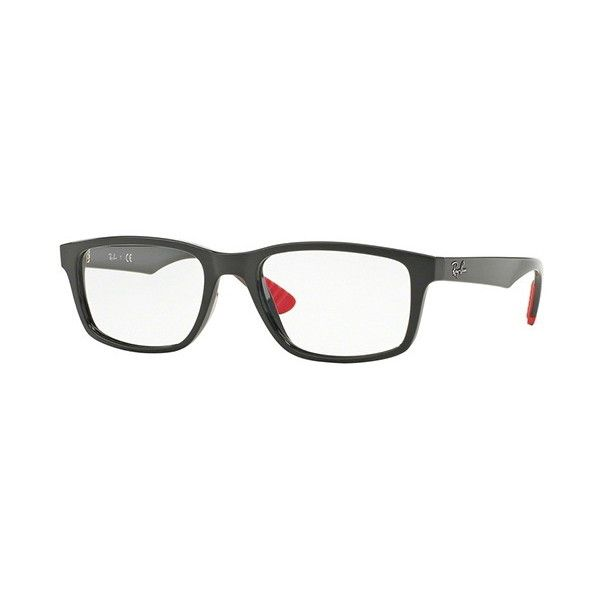 Ray-Ban RX7063 Active Lifestyle 5418 Eyeglasses (£82) ❤ liked on Polyvore featuring men's fashion, men's accessories, men's eyewear, men's eyeglasses, dark grey, ray ban mens eyeglasses, mens eyewear and mens eyeglasses