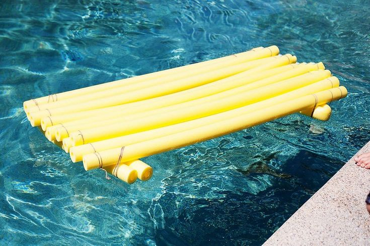 Creative craft ideas with swimming noodles for children and adults