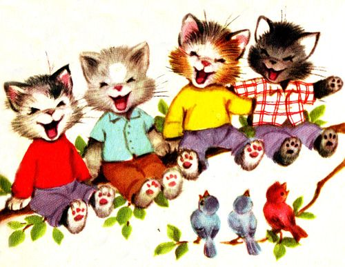 "Illustrated by Elizabeth Webbe, 1956- from ""The Seven Wonderful Cats"" Rand McNally Book"