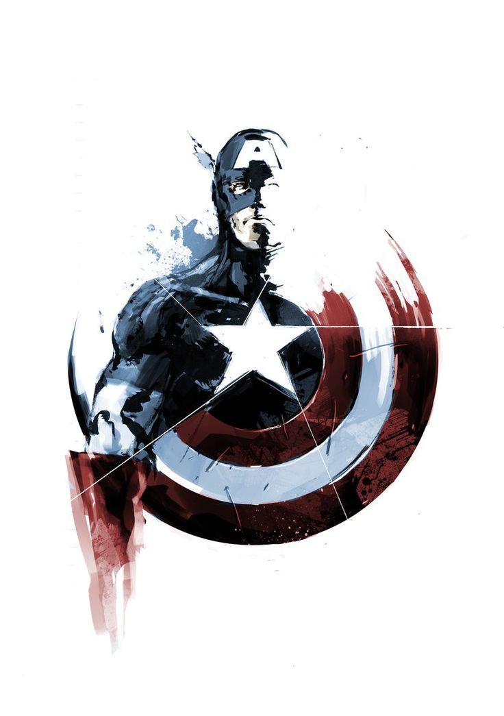 Captain America - naratani.deviantart.com