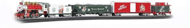Bachmann Trains A Norman Rockwell Christmas Train HO Scale Ready To Run Electric Train Set