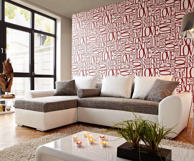 Die besten 25+ grau Ledersofa Ideen auf Pinterest Skandinavische - wohnzimmer couch weis grau