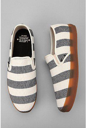 UrbanOutfitters.com > Vans California Striped Low Pro Slip-On Sneaker