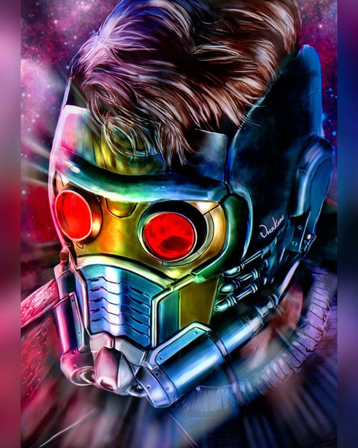 """557 Likes, 2 Comments - A.K.A. BatPool (@mercwithabat) on Instagram: """"Art by Junkome #Starlord #Marvel #Art"""""""