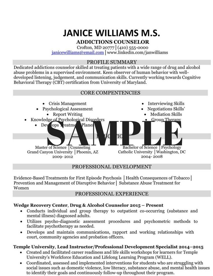 Peste 1000 de idei despre Professional Resume Samples pe Pinterest - sample psychology resume