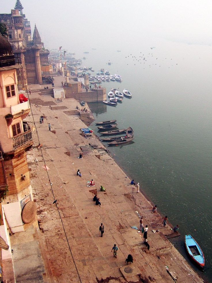 Ganges River, Varanasi, India - The 5th most polluted river in the world and the lifeline to millions of Indian who live along its course.