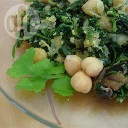 Spinach with Chickpeas @ allrecipes.com.au
