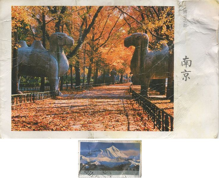 "Swap - Arrived: 2018.08.28   ---   Camels along the ""Elephant Road"" in the Ming Xiaoling Mausoleum. The Mausoleum is the tomb of the Hongwu Emperor, the founder of the Ming dynasty. It lies at the southern foot of Purple Mountain, located east of the historical centre of Nanjing, China. Legend says that in order to prevent robbery of the tomb, 13 identical processions of funeral troops started from 13 city gates to obscure the real burying site."