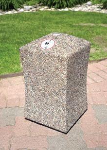 Concrete Smokeless Outdoor Ashtray TF2073