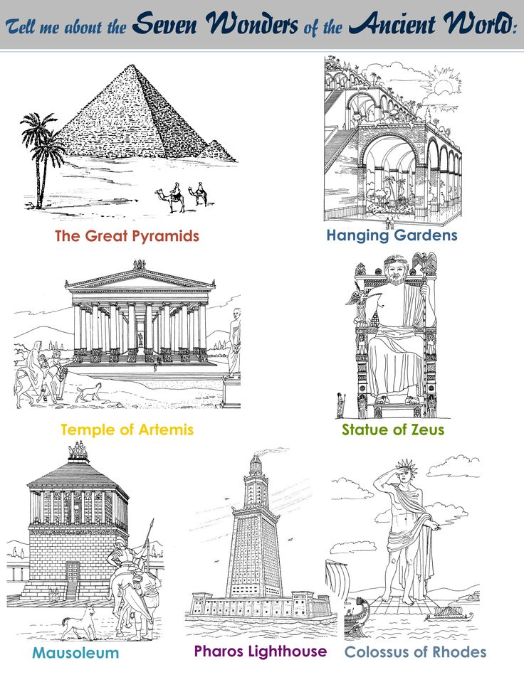Seven wonders of the world: Architecture