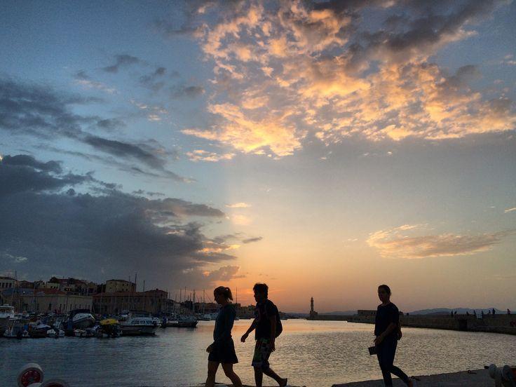 Old Harbor, Chania, Crete, Hellas