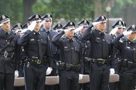 Law enforcement officers. love a man in uniform.
