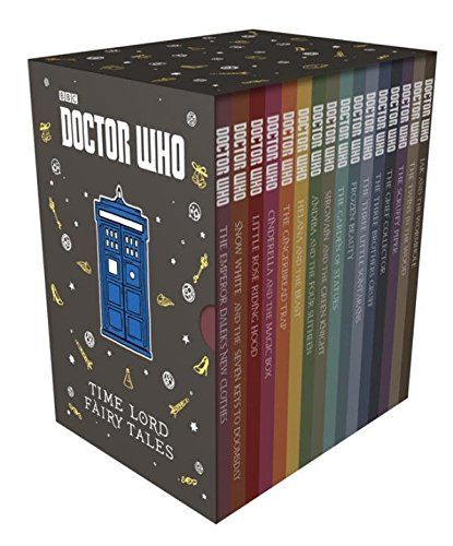 #DoctorWho: Time Lord Fairy Tales Slipcase Edition! Limited collection!