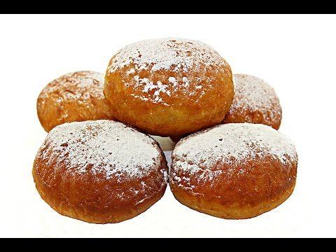 Gogosi pufoase | Romanian Doughnuts - Adygio Kitchen - YouTube