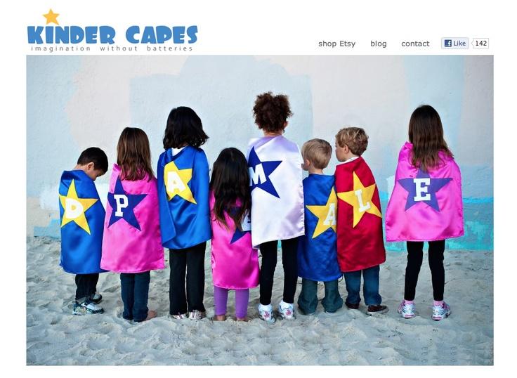 Retail Website - www.kindercapes.com