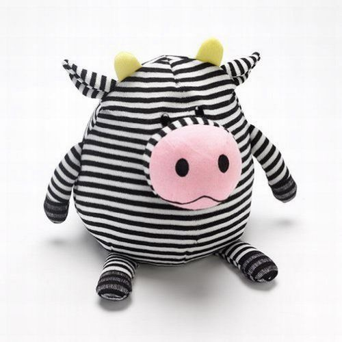 Mushables Pot Bellies Toy Cow Pillow