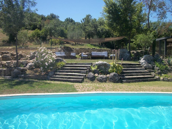 The Borghetto's swimming pool..