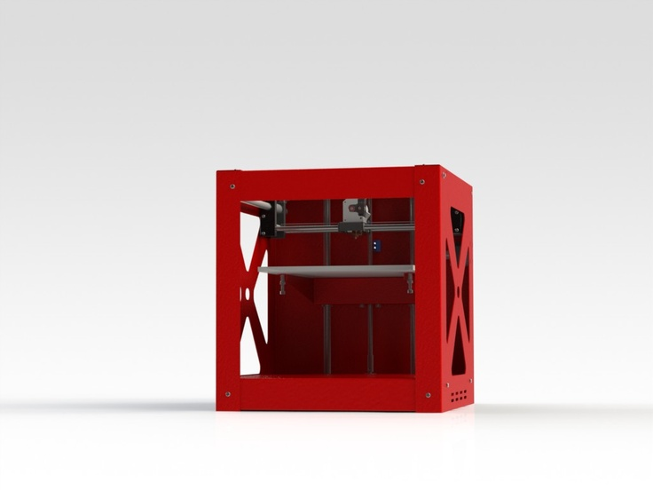 The specifications for the Builder 3D printer are listed here3DPrinter4U