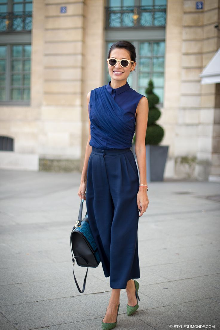 cool blue outfit
