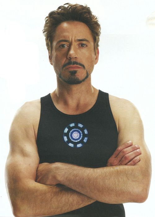 Tony Stark is Iron Man