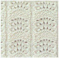 Lace Knitting Stitches: Lace Knitting Stitch #27