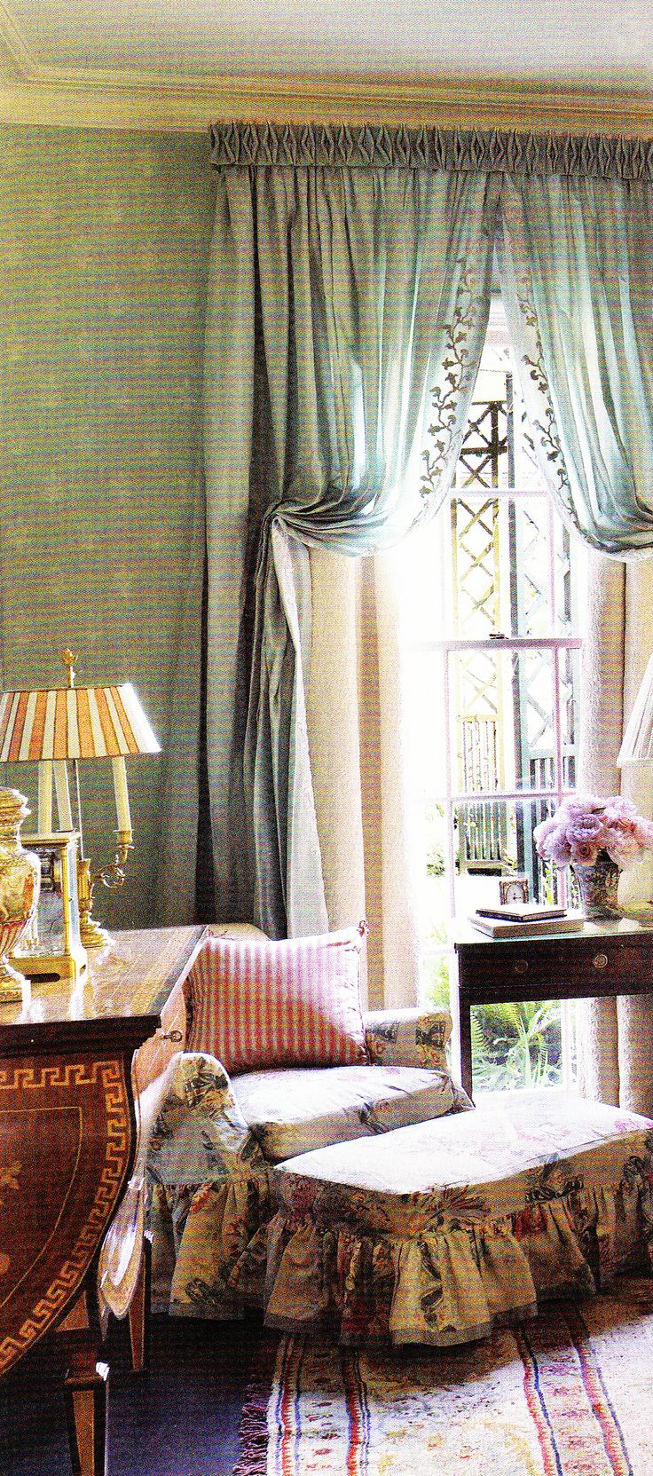 French country bedroom curtains - Master Bedroom Of A Mississippi Home By Richard Keith Langham Ad March 2011 English Country Stylefrench