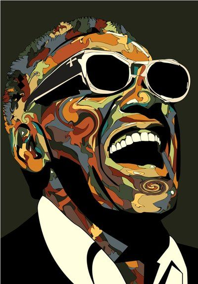 Ray Charles by eosvector on DeviantArt